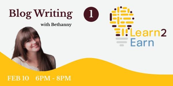 Blog writing part 1